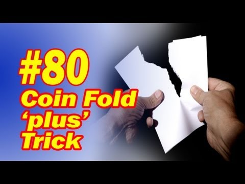 Coin Fold Magic Trick - Updated To Make It Easy For You - Free Magic Download