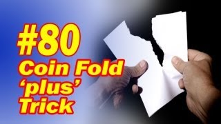 Coin Fold Magic Trick Updated To Make It Easy For You