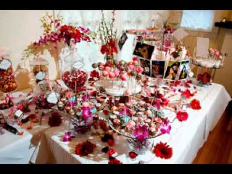 Wedding Candy Table Ideas