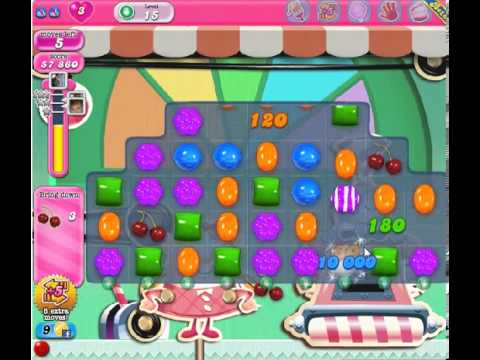 How to beat Candy Crush Saga Level 15 - 3 Stars - No Boosters - 96