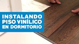 Instalar piso vinílico en dormitorio