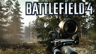 Battlefield 4 - Snajper w lesie