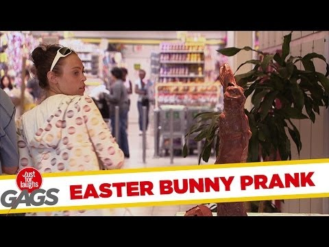 Melting Easter Bunny Prank - Throwback Thursday