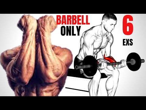 4 Best forearms workout with  Barbell only / Musculation avant-bras
