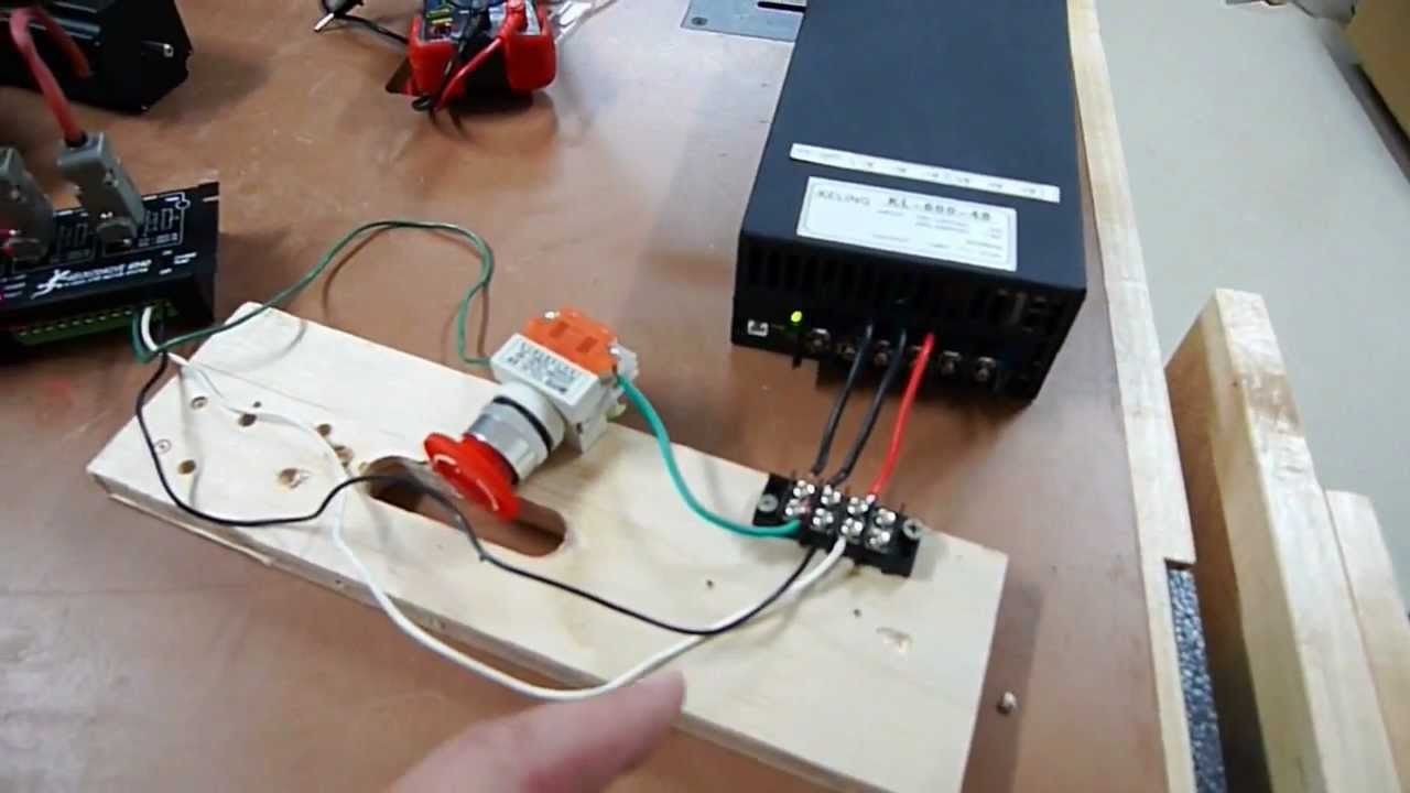 Wetland cnc router part 16 bench test stepper motors for How to test stepper motor