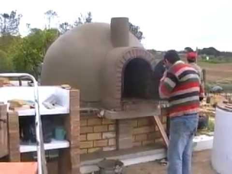 Horno de le a su terminaci n youtube - Cocinar horno de lena ...