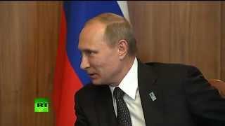 Владимир Путин встретился с президентами Венесуэлы и Боливии