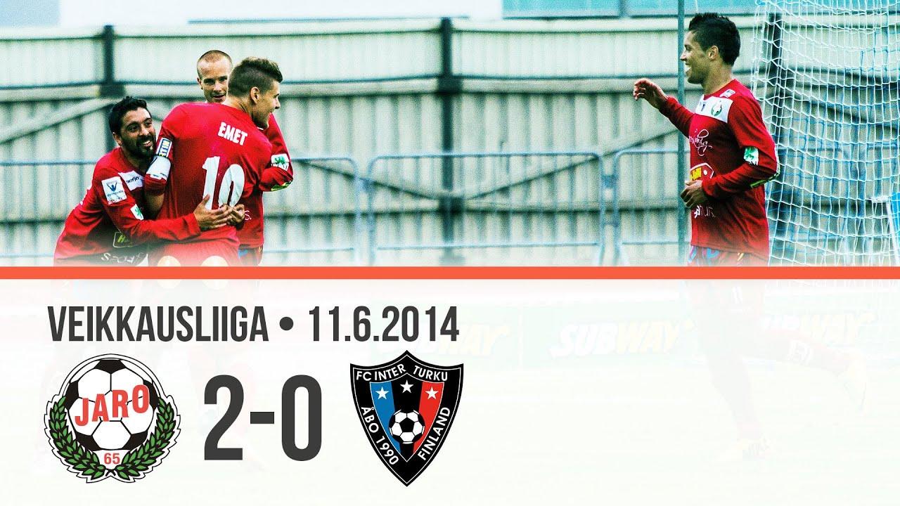 Jaro 2-0 Inter Turku