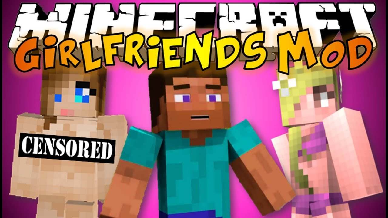 Minecraft: GIRLFRIENDS MOD - Bikinis, Dancing, Fighting