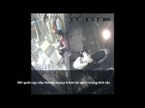Clip 6 nữ quái ăn trộm siêu đẳng