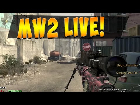 IM BACK BABY - Intervention Time - MW2 Live com #33