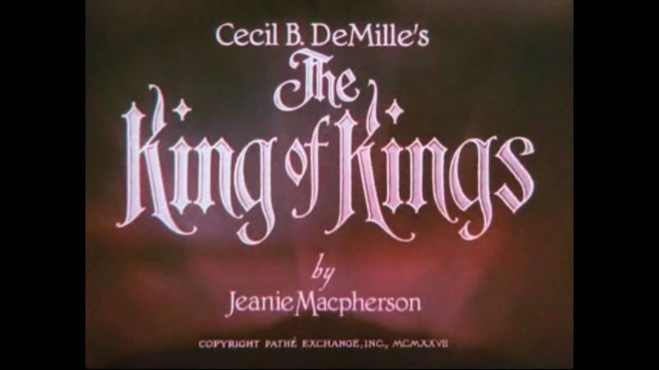 silent movie the king of kings 1927 116 youtube