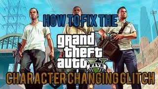 GTA V How To Fix 'Can't Change Character' Glitch