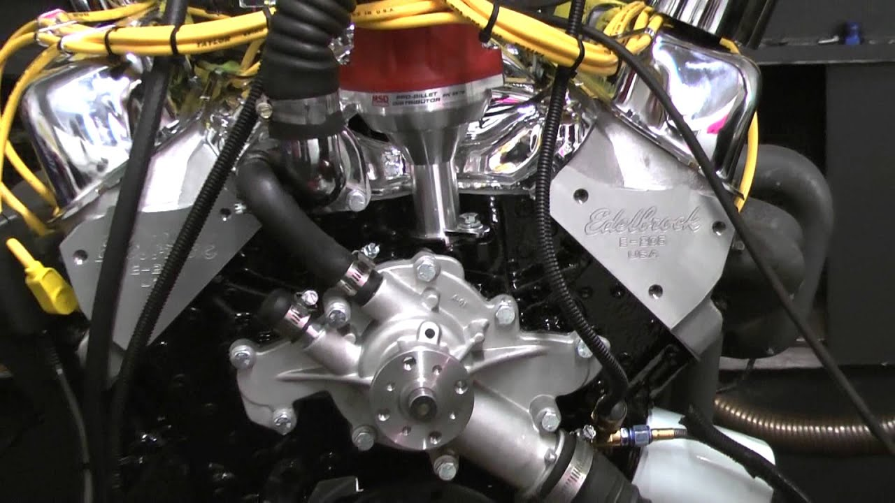 408 ford stroker engine with edelbrock dual quads youtube for Ford stroker motor sizes