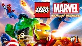 Lego Marvel Super Heroes #1 PL ( PIERWSZE WRAŻENIA