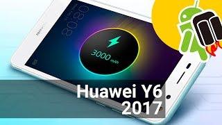 Video Huawei Y6 (2017) 16GB Gris oN9InIfOziU