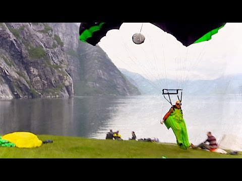 Gray Days In Norway | BASE Wingsuit Tracking