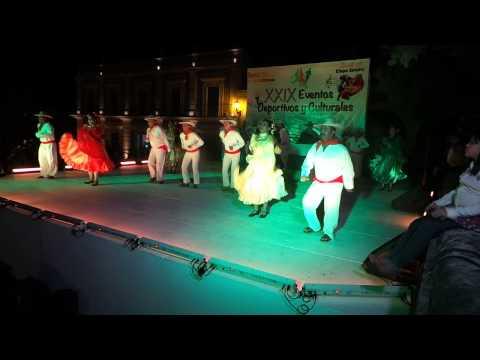 Bailes de michoacan tierra caliente. SNTE Obregon