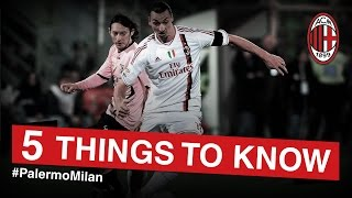 Palermo-AC Milan: 5 things to know | AC Milan Official