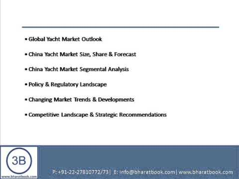 Bharat Book Presents : China Yacht Market Forecast & Opportunities, 2017