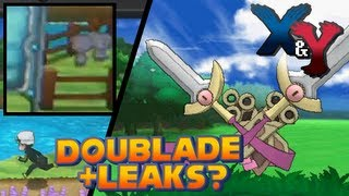 Pokémon X And Y New Evolution: Doublade + Leaked