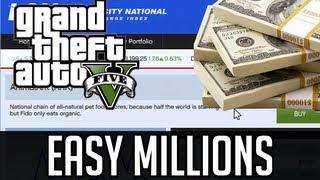 GTA 5 How To Make MILLIONS Off Stock Market (GTA V
