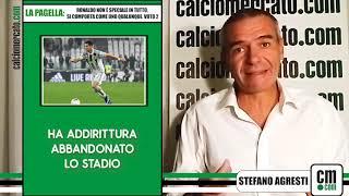 La pagella: Ronaldo non è speciale in tutto, si comporta come uno qualunque. Voto 2