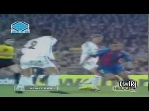 Bóng Đá   Những pha đi bóng kinh điển của Messi, Ronaldinho, Maradona, Ronaldo