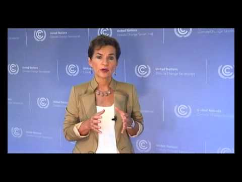 Christiana Figueres Addresses experts at the 44th Pacific Islands Forum meeting