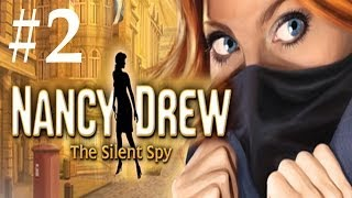Nancy Drew: The Silent Spy Walkthrough Part 2