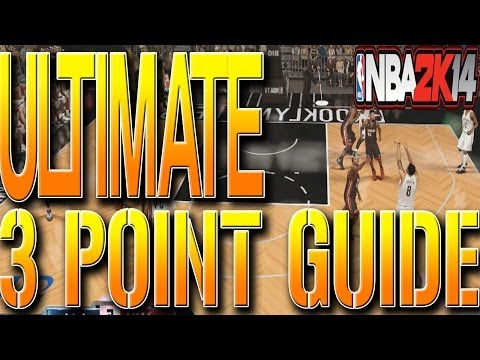 NBA 2K14 TIPS: Ultimate 3 Point Guide! How To Make Three's Consistently EVERYTIME (GLITCH TUTORIAL)