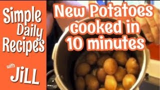 How To Pressure Cook New Potatoes Simple Daily Recipes