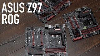 ASUS Z97 ROG Motherboards: Hero & Maximus VII Gene