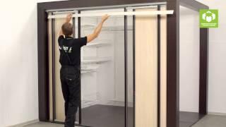 Подвесные перегородки (двери) ARISTO. Система 4 в 1