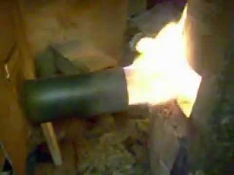 Palnik do spalania biomasy, pellet, zrębki,brykiet.