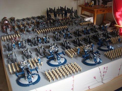 My lego droid army youtube - Lego star wars base droide ...