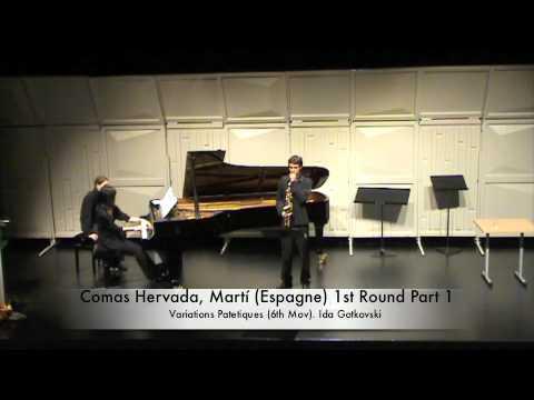 Comas Hervada, Martí Espagne 1st Round Part 1
