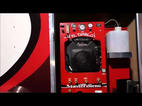 El Diablo Heat Exchange TruckMount Cleaning Equipment Machine