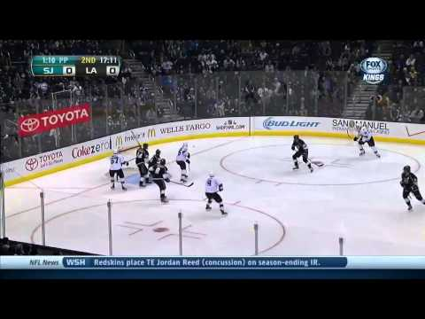San Jose Sharks vs  Los Angeles Kings 19.12.2013