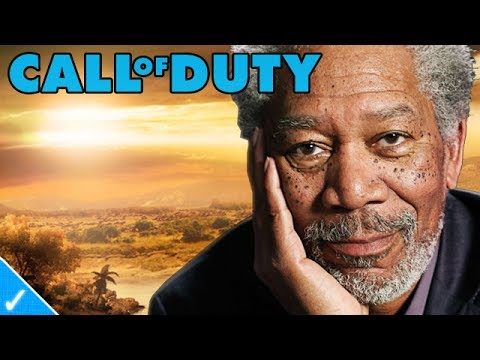 The Celeb Gamer - Morgan Freeman plays Black Ops 2