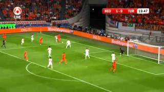 Netherlands Turkey WC 2014 Qualifying Match