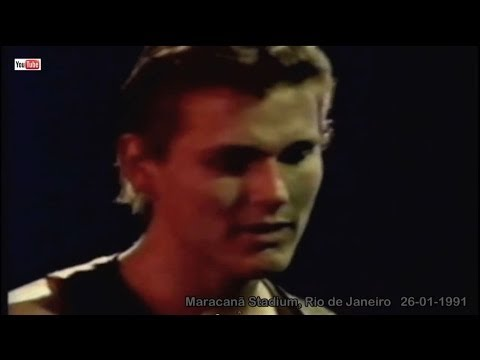 a-ha live - Manhattan Skyline  (HD), Rock in Rio II, Rio de Janeiro - 26-01-1991