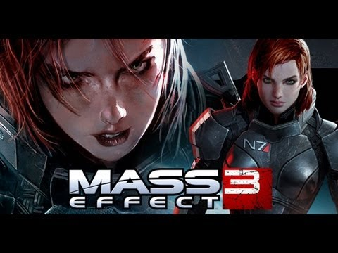 Mass Effect 3 - Female Shepard in Action Trailer