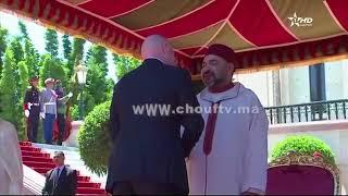 الملك محمد السادس يستقبل بطنجة رئيس الاتحاد الدولي لكرة القدم بمناسبة عيد العرش   |   قنوات أخرى