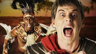 Shaka Zulu vs Julius Caesar. Epic Rap Battle.