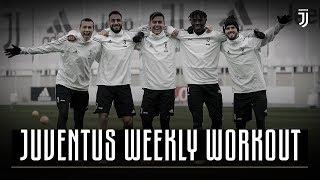 SHOOTING SESSION! Bianconeri target practice | Juventus Weekly Workout