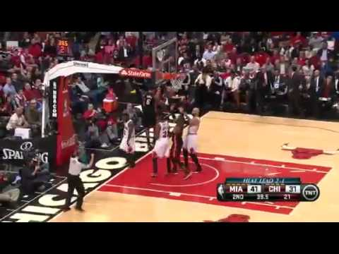 Miami Heat Vs Chicago Bulls - NBA Playoffs 2013 Game 4 - Full Highlights 5/13/13