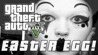 "Grand Theft Auto 5 Hidden ""Pantomime"" Easter Egg! (GTA V"