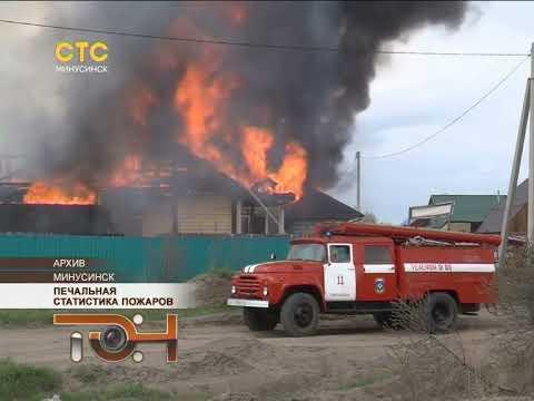 Печальная статистика пожаров