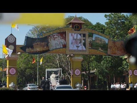 Đức Thánh Cha gặp gỡ cách nhà lãnh đạo tôn giáo Sri Lanka